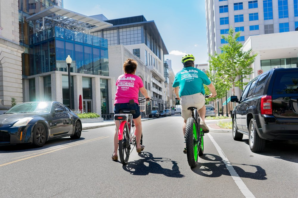 Social Spots from Pedego Electric Bikes Norfolk - Downtown