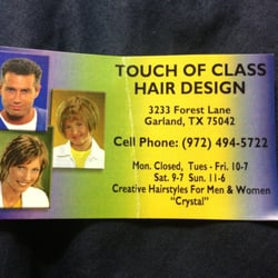 Touch Of Class - Kingston - phone number, website, address & opening hours - ON - Hairdressers & Beauty Salons.
