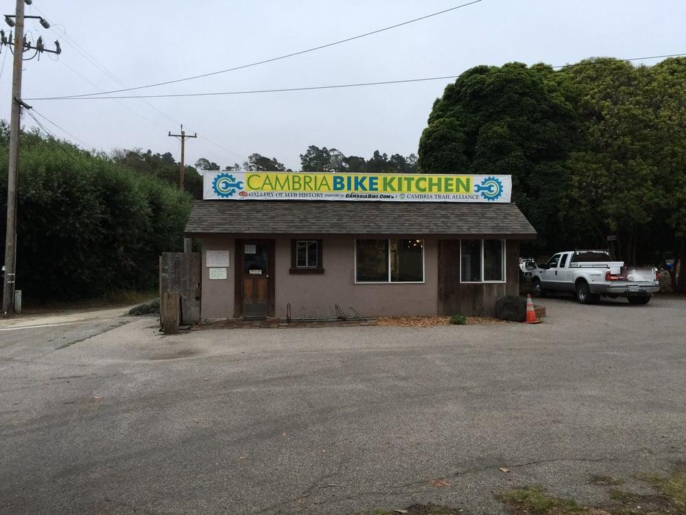 Cambria Bike Kitchen: 1602 Main St, Cambria, CA