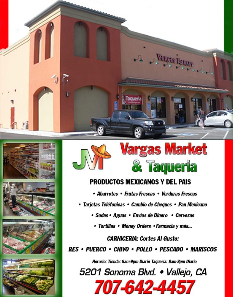 Vargas Market: 5201 Sonoma Blvd, Vallejo, CA