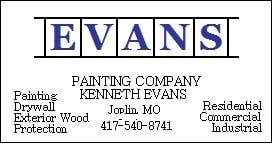 Evans Painting Co: Joplin, MO