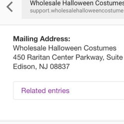 Wholesale Halloween Costumes - CLOSED - Discount Store - Ledgewood ...