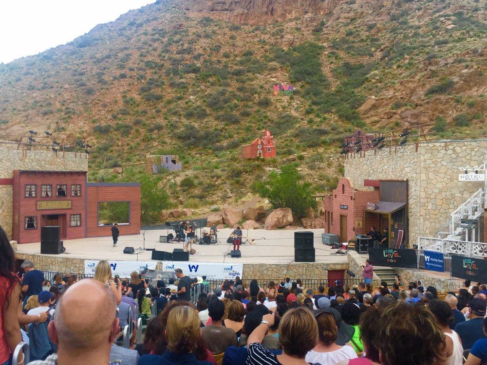 Mckelligon Canyon Theatre: 1500 Mckelligon Canyon Dr, El Paso, TX