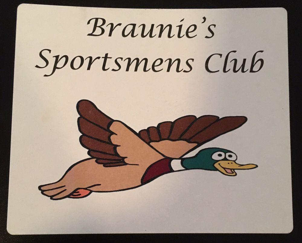 Braunie's Sportsman's Supper Club: 20823 Main St, Collins, WI