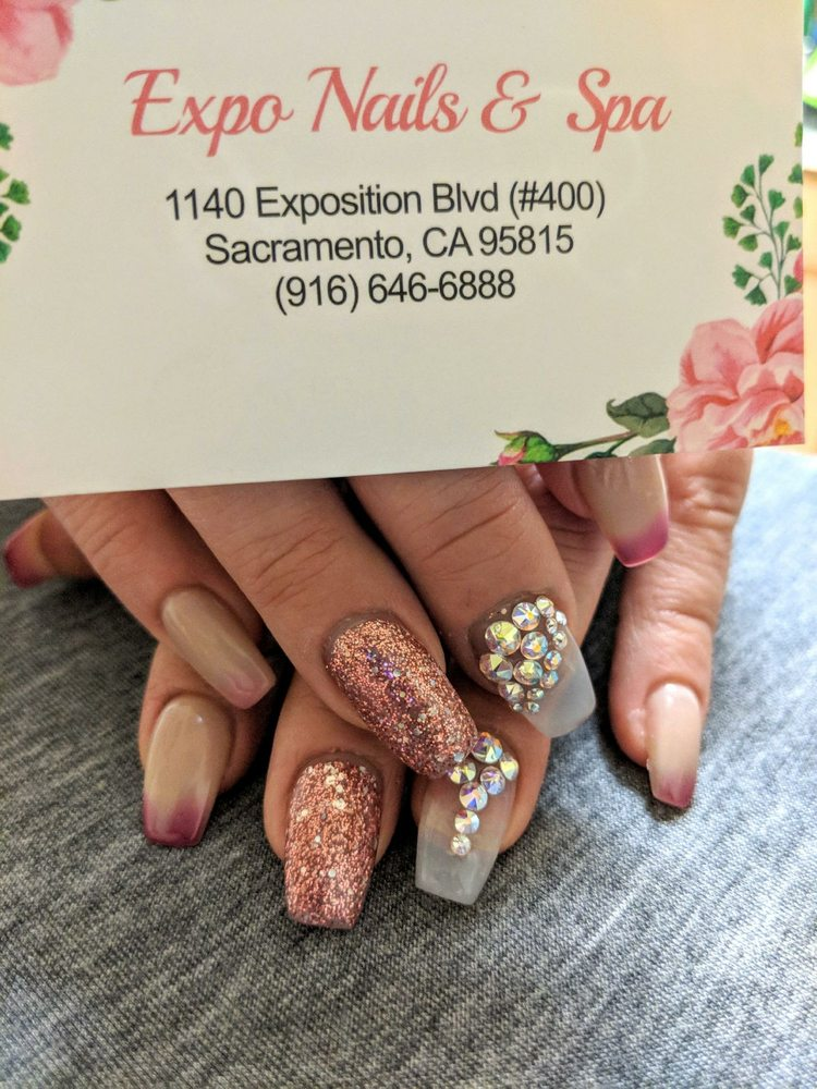 My hooked it up! She did some beautiful work on these fingers! If y ...