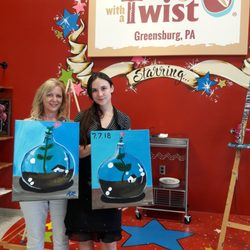 Painting With A Twist 632 Photos Paint Sip 1020 Towne Square