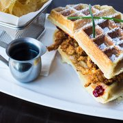 Photo of Straw - San Francisco, CA, US. Fried Chicken -n- Waffle Monte Cristo. Make a reservation.