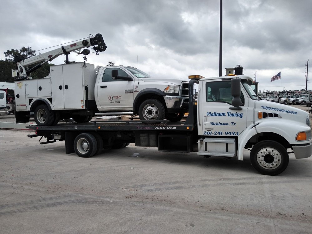 Towing business in Bacliff, TX