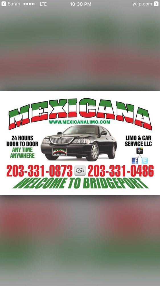 Mexicana Limo & Car Service: 340 Pequonnock St, Bridgeport, CT