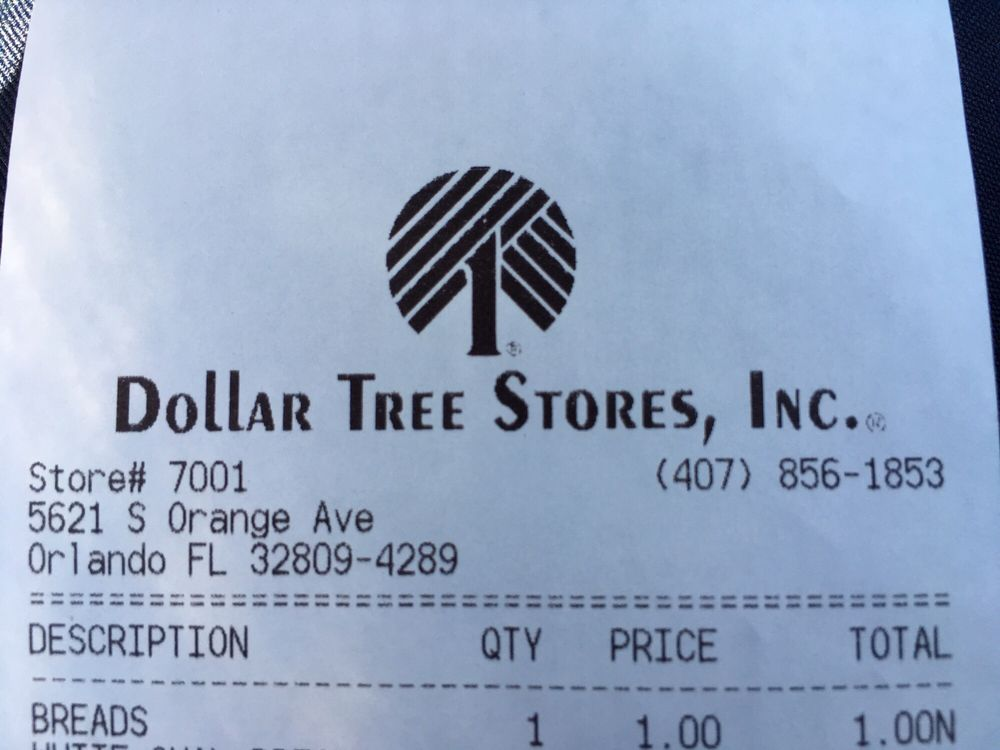 Dollar Tree Store: 5621 S Orange Ave, Orlando, FL