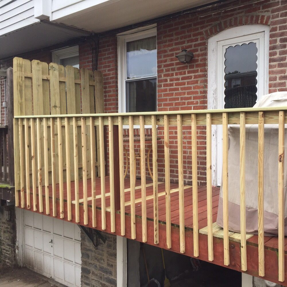 Deck Repair And Privacy Fence Yelp