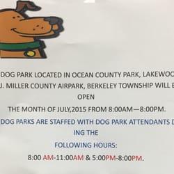 Ocean County Off Leash Dog Park