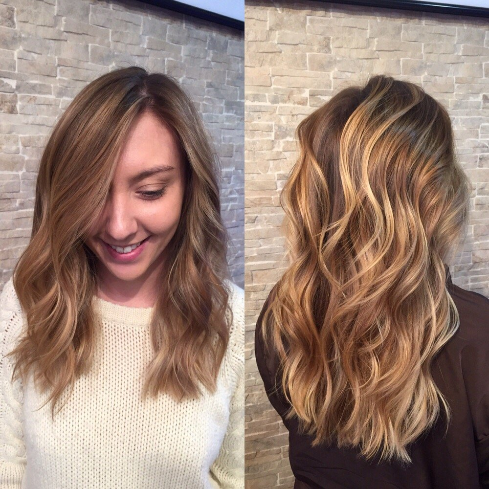Balayage by kali yelp for Aaron emanuel salon nyc