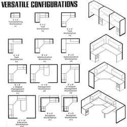Photo Of Arc Interior Solutions   Denton, TX, United States. Cubicle  Configurations