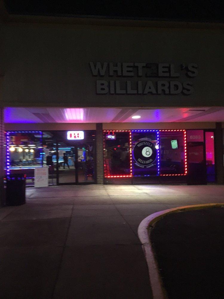 Whetzel's Billiards: 8383 Sudley Rd, Manassas, VA