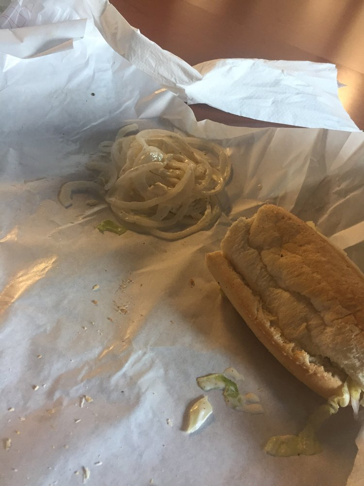 Food from Screpesis Sandwich Shop