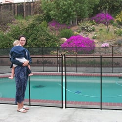 All Safe Pool Fence Covers 235 Photos 182 Reviews Fences