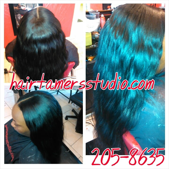 Sew In Weaves Weave Install Hair Extensions Hair Loss Solutions