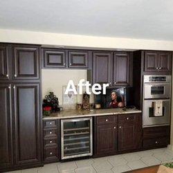 Photo Of Log Kitchens Refacing Buffalo Ny United States After
