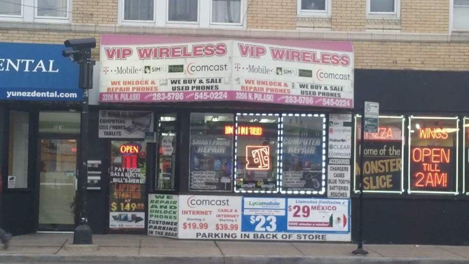 Vip Wireless: 3206 N Pulaski Rd, Chicago, IL