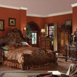 Photo Of Comfy Furniture   Irving, TX, United States. Brown Finish Bedroom  Set