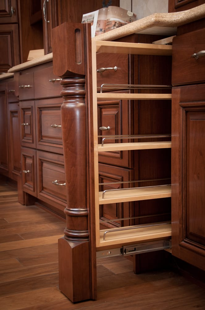 Rollout column drawer yelp for Timberwood custom kitchens