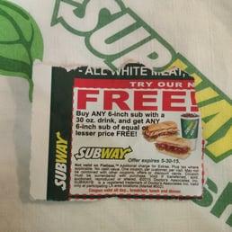 Subway coupons schweiz
