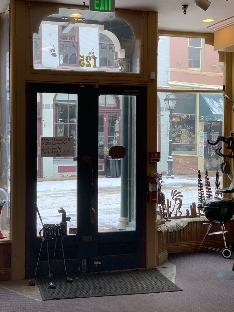 Mayor Willies Coffee and Donuts: 125 Main St, Central City, CO