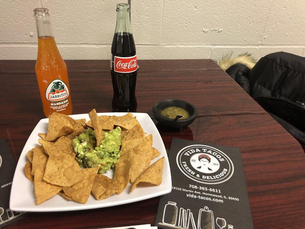 Vida Tacos: 18102 Martin Ave, Homewood, IL