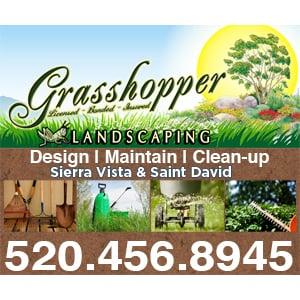 Grasshopper Landscaping & Maintenance: 698 N Gonzales Blvd, Huachuca City, AZ