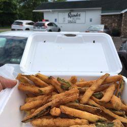 Photo Of Ricardo S Restaurant Erie Pa United States Zucchini Fries