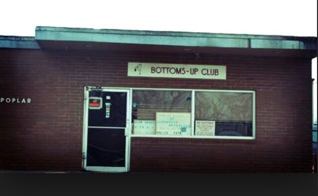 club Bottoms up gentlemens