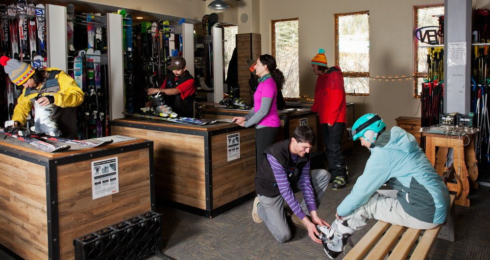 Cottam's Ski Shops: 100 Thunderbird Rd, Taos Ski Valley, NM