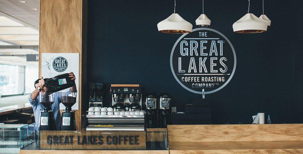 Great Lakes Coffee Roasting Company: 1 Washington Blvd, Detroit, MI