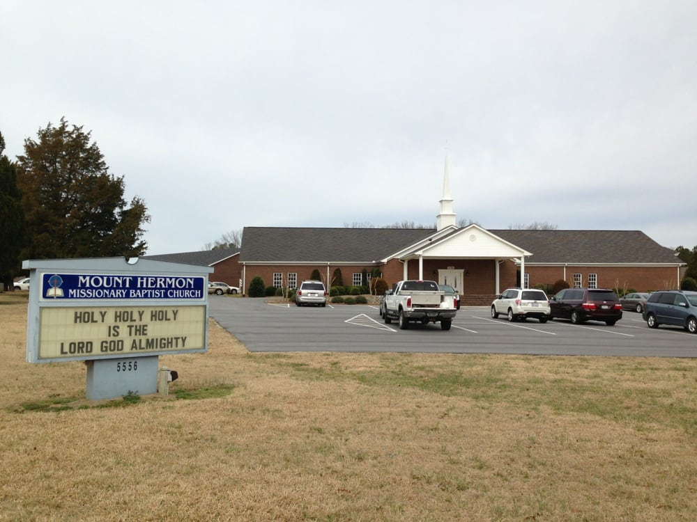 Mount Hermon Missionary Baptist Church: 5556 Bend Of The River Rd, Rocky Mount, NC
