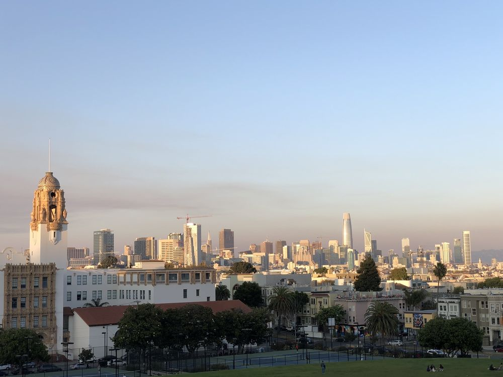 Social Spots from Mission Dolores Park