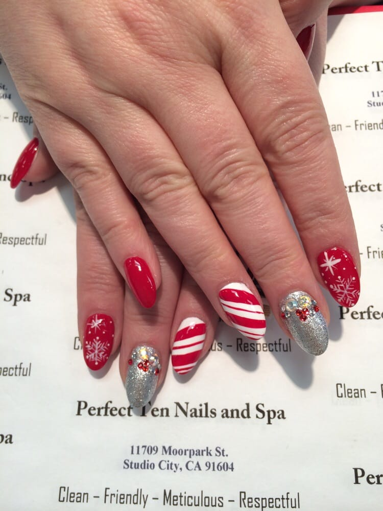 Xmas nails yelp for A perfect 10 salon