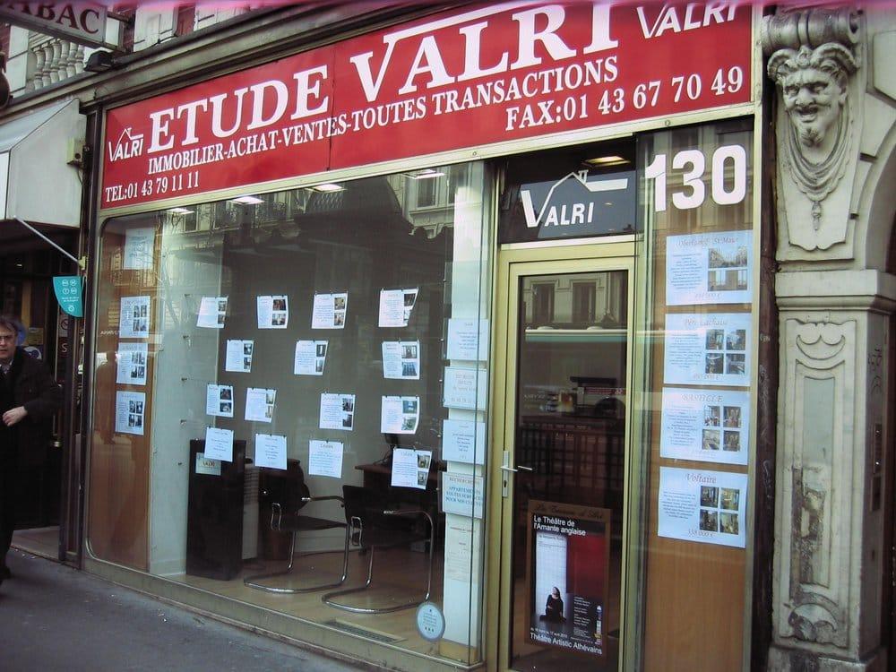Etude valri agenzie immobiliari 130 bd voltaire - Agenzie immobiliari francia ...