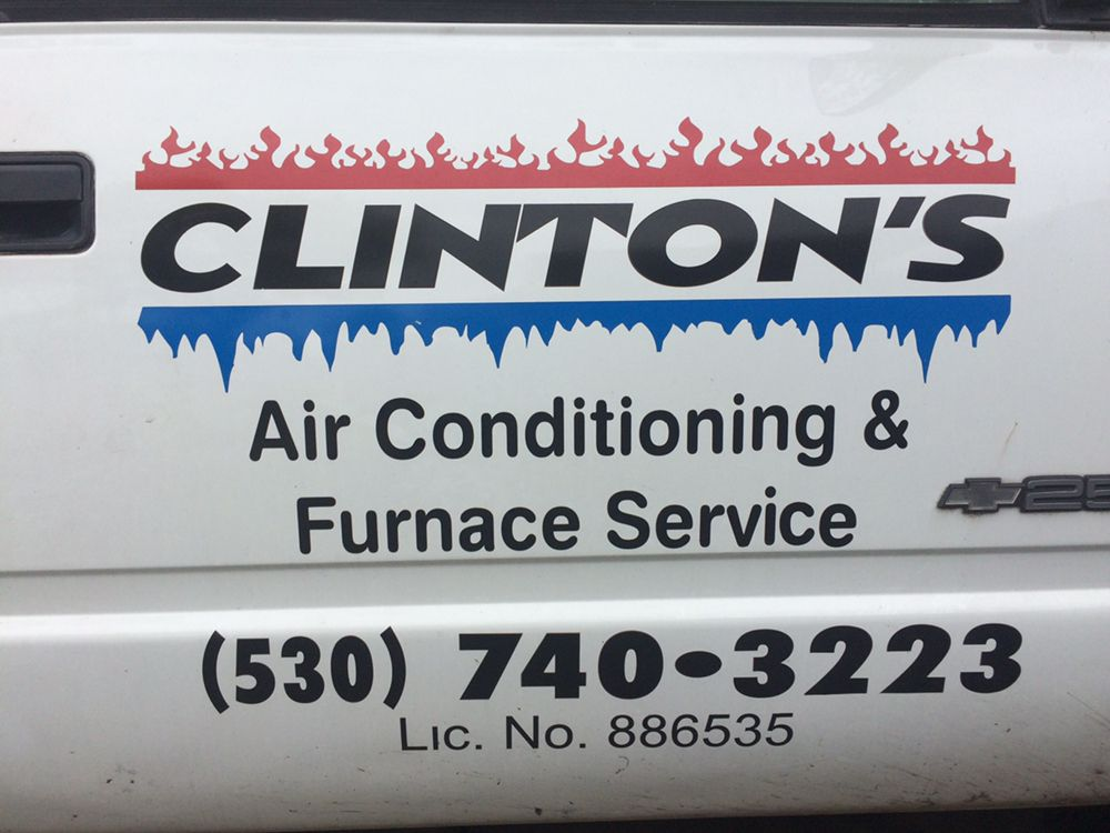 Clinton's Air Conditioning & Furnace Service: Marysville, CA