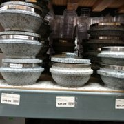 Charmant Commercial Trashcans U0026 Photo Of Kitchen Plus   Los Angeles, CA, United  States. Stone Bowls For