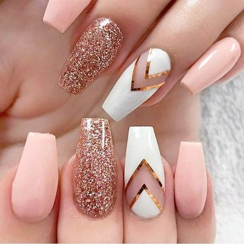 Photo Of Pretty Nails Chicago Il United States What A Cute Acrylic
