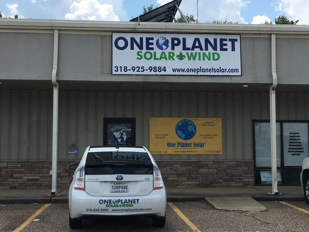 One Planet Solar & Wind: 2068 Hwy 171, Stonewall, LA