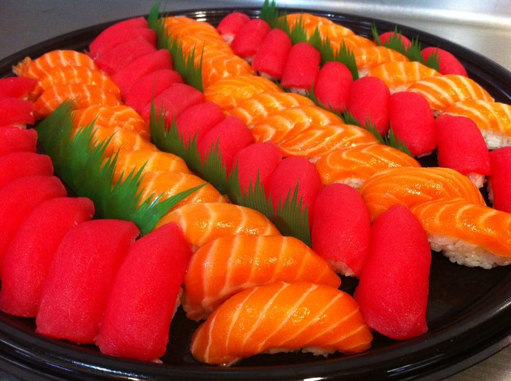 Tuna Salmon Sashimi Platter Yelp