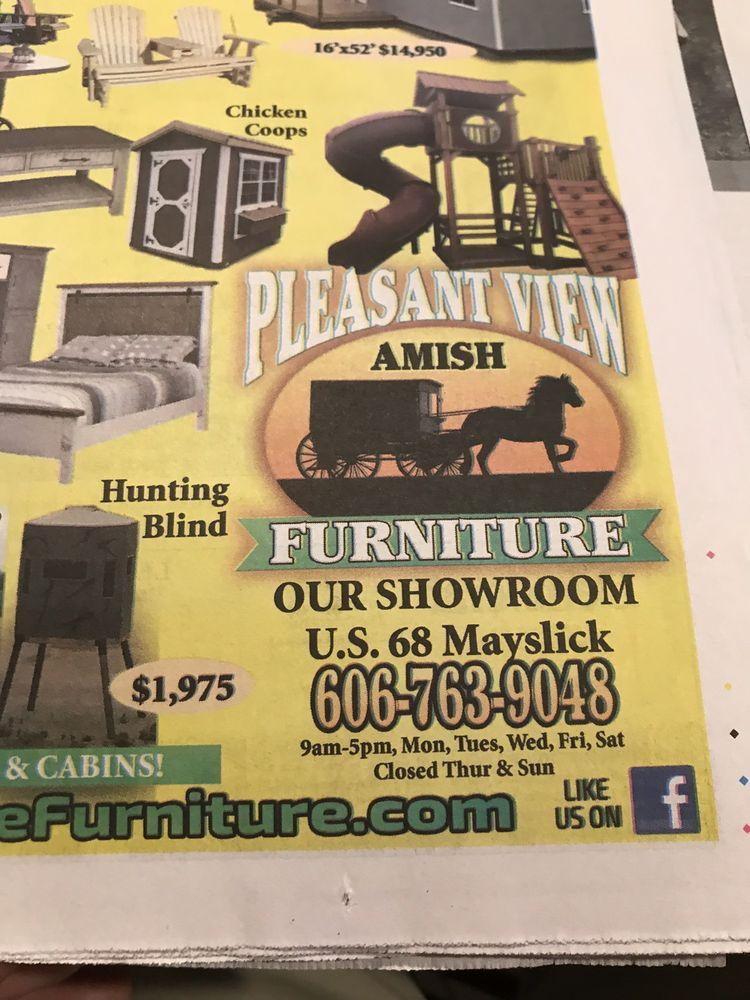 Pleasant View Furniture: 5895 US Highway 68, Mayslick, KY