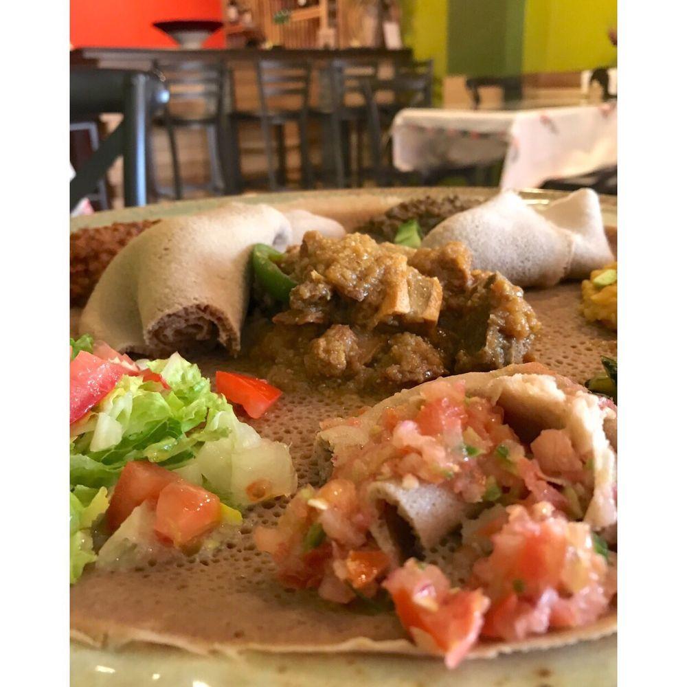 Emma Habesha Restaurant: 726 N La Brea Ave, Inglewood, CA