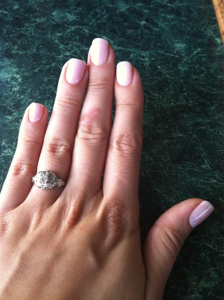 Photo Of Nail Lane Anaheim Ca United States Pale Pink Gel