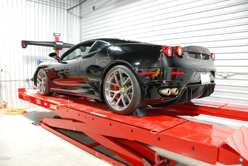 Ferrari Beverly Hills Service And Collision Center Los Angeles