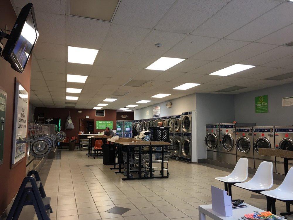 Think Clean Laundromat: 454 Blvd, Hasbrouck Heights, NJ