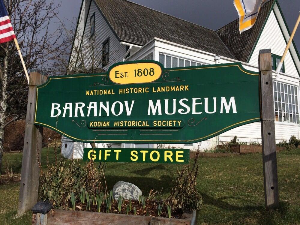 Baranov Museum: 101 E Marine Way, Kodiak, AK