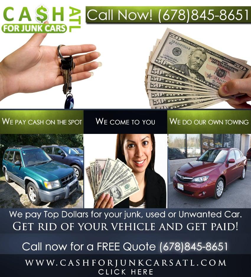 Cash For Junk Cars Atlanta